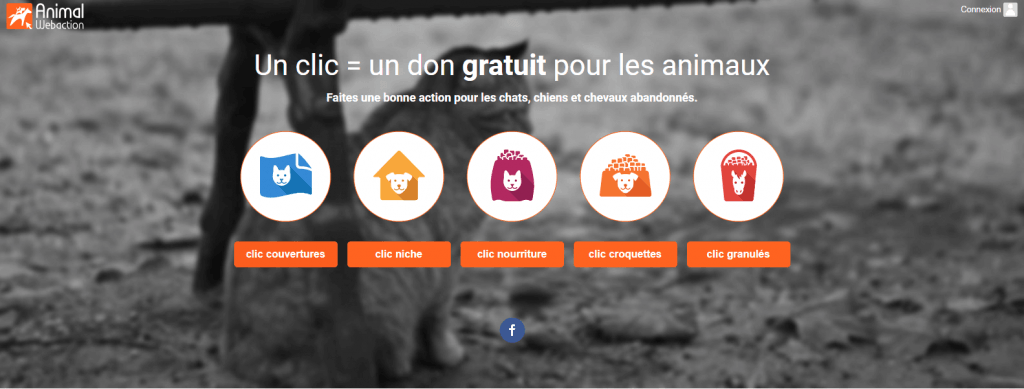 aider les animaux avec animal web action